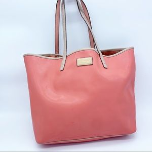 Coach Large Pink Metro Leather Tote Shoulder bag